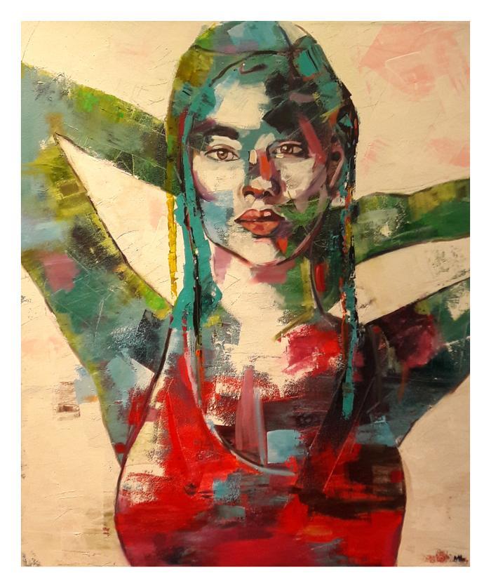 Marcia Lusman    Summer    Acrylic    75 x 90cm    R6000.00