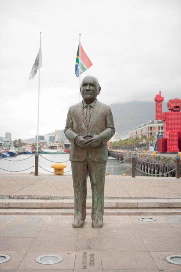South Africa's Nobel Peace Prize Laureates - FW de Klerk