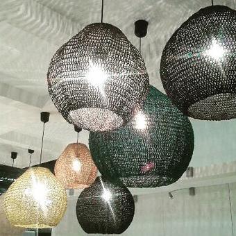 thumbnail for Resin ball shade display