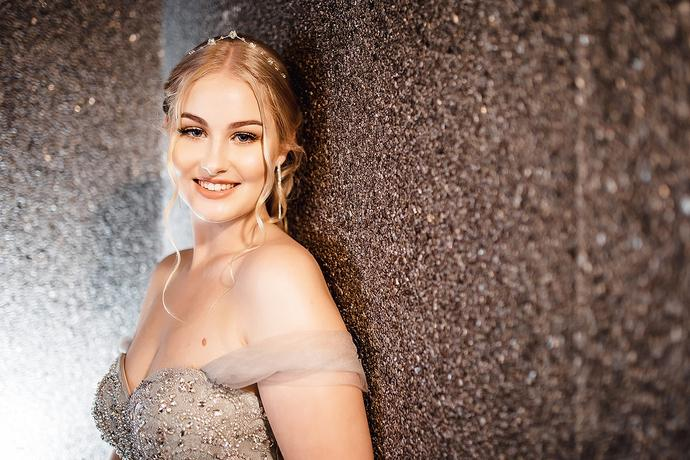 Matric Farewell Photos indoors in Mossel Bay during a rain storm.