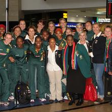 Thumbnail for SPAR PROTEAS RECEIVE A WARM WELCOME
