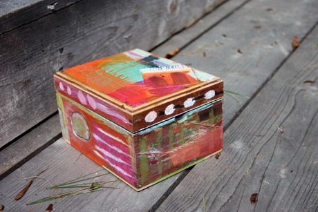 cigar box makeover