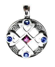 <b>MA01 Celtic Cross Heart -True and Happy Friendship </b>