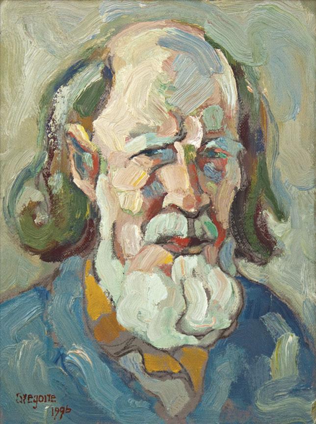 Gregoire Boonzaier: Self-portrait - SOLD