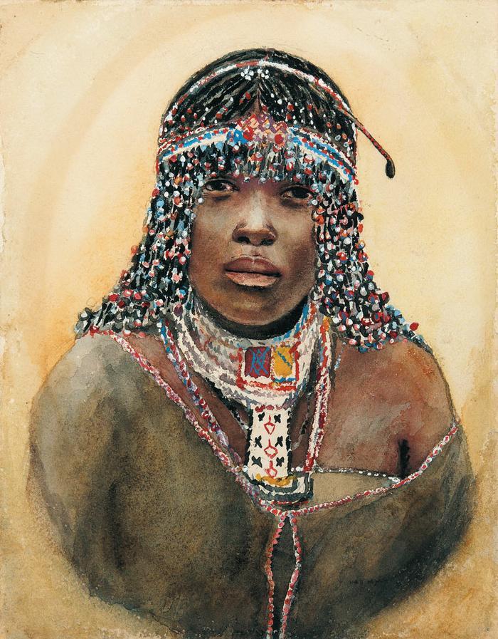 Portrait of a female Sangoma - Revisions