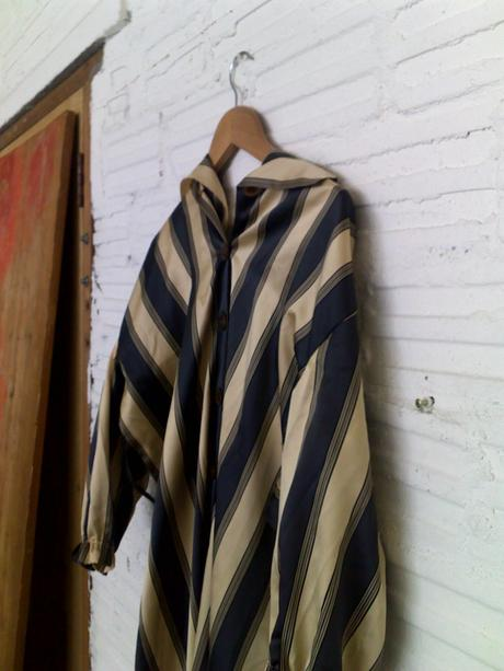 Old garment used by Adriaan Kuiters for scarf in Image 9.