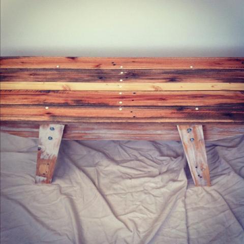 Workshop Pallet Bench
