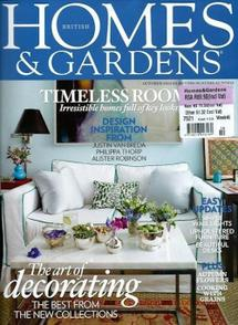 Thumbnail for HOMES & GARDENS - OCT 2013