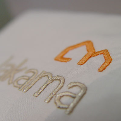 thumbnail for embroidered logo detail