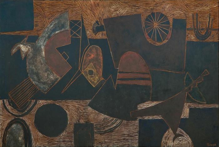 Lucky Sibiya: Abstract - SOLD