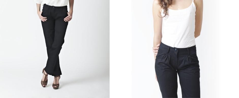 Ladies Tailored Pants; Lo, Autumn/Winter 2011