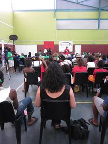 Lisa experiences the Freegender gathering in Khayelitsha