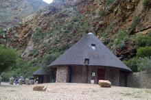 A reststop at Meiringspoort that Sandra (and her team) built