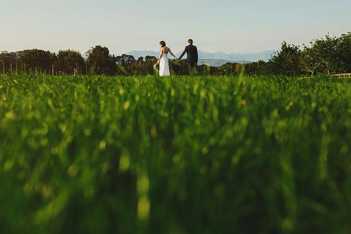 Outdoor Farm Wedding - Leon & Venoesjka