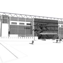 Thumbnail for Proposed Grandstand for Horse-Racing Track