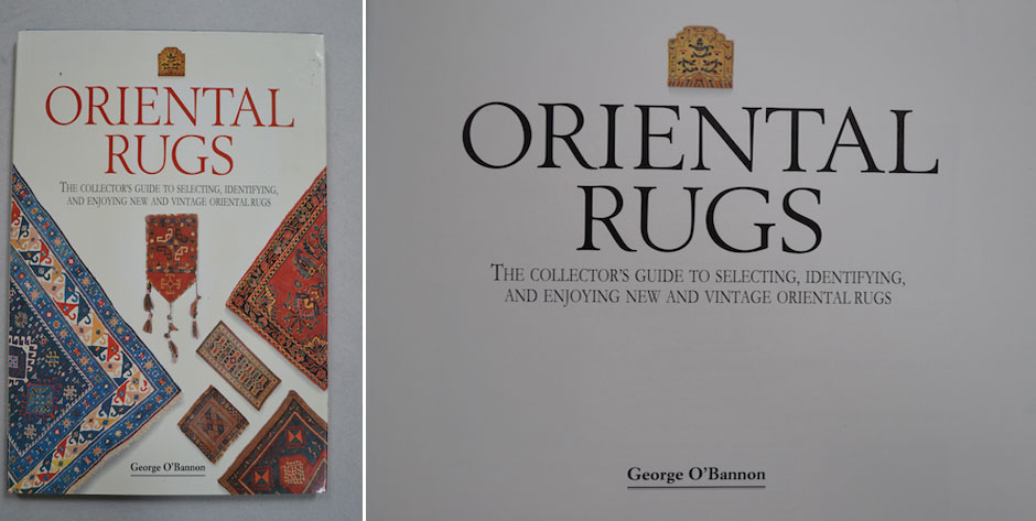 O'BANNON, George, Oriental Rugs , reprinted 1998 London  • # 7874 £8 / US$13