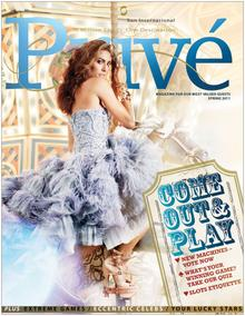 Sun International Prive Magazine Spring 2011 Cover