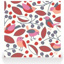 Garden Birds - Pink