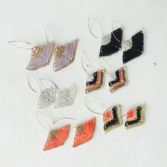 thumbnail for a selection of prism earrings