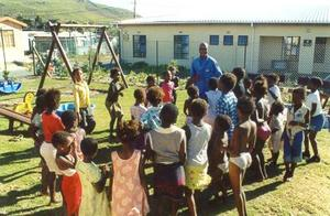 HOKISA: A safe place for children living with and affected by HIV/Aids - and all the children of the neighbourhood.