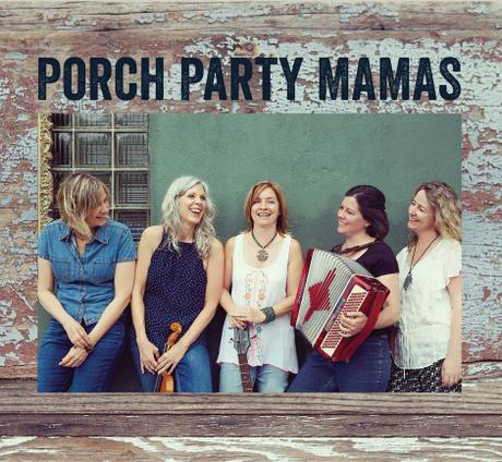 Cd Cover Porch Party Mamas