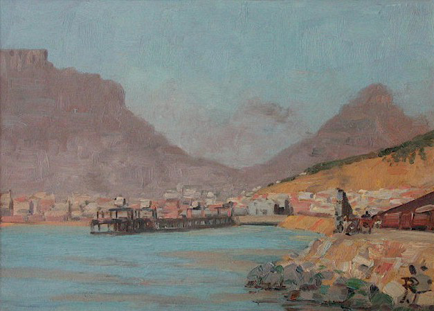 Cape Town Harbour -  SOLD