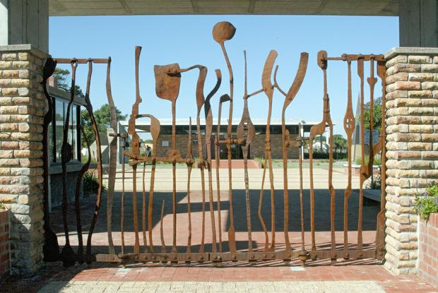 Jewish Cemetery Gates