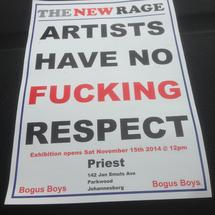 Thumbnail for 2014-11-15 | Artists Have No Fucking Respect @ Priest Espressobar