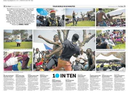 The Times (SA) - 10inTen - Musangwe: Traditional Bare Knuckle Boxing, Venda, South Africa