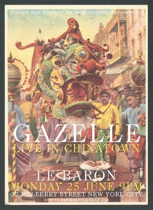 Thumbnail for Gazelle New York Debut Show