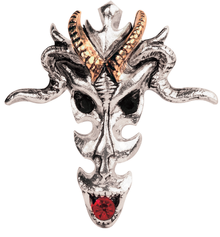 <b>FB12 Dragon Skull</b> - Wealth & Riches  <br><b>Price:R470</b>