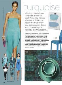 Thumbnail for Plascon Spaces Turquoise - 2012