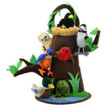 Hide Away tree House with Pond PC 3037