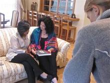 Lisa Chait interviews Madhuri at her home