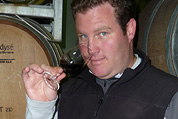 Van Zyl Du Toit, the face behind the wine, a man passionate about bubbles.
