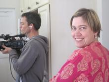 DOP Tim Wege and episode director Miki Redelinghuys