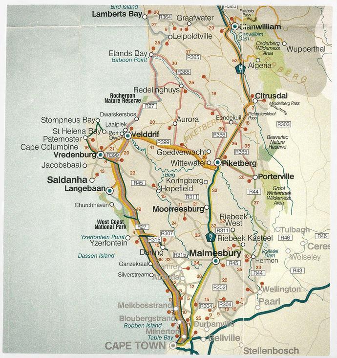 West Coast, South Africa » Garden Route Portraits