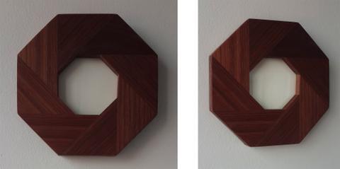 Aperture Frame - American Black Walnut