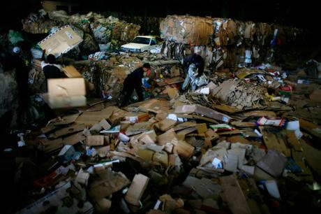 thumbnail for Recycling center, Johannesburg