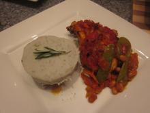Chakalaka Chicken with Madumbi mash