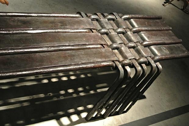 Woven Bench 2 - Miami/Basel Exhibition 2013