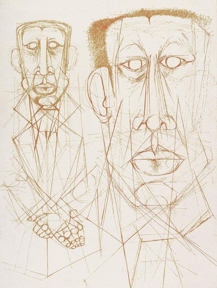 Study for portrait of Albert Luthuli