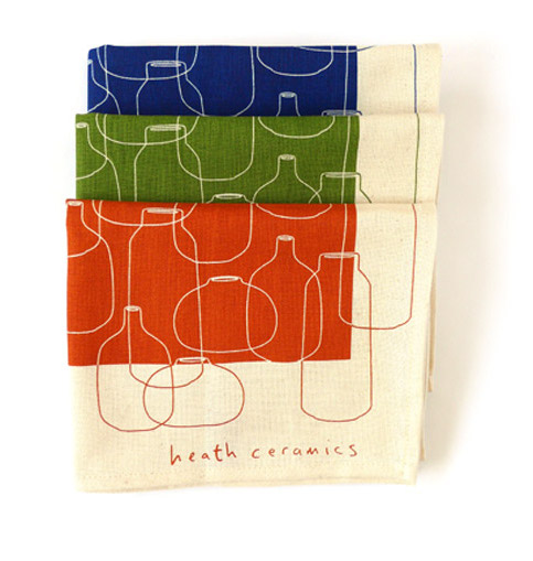 Heath Ceramics tea towel