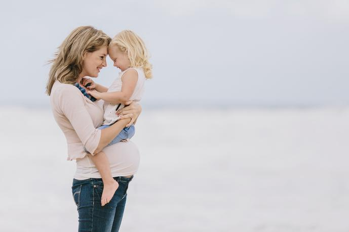 thumbnail for Mother and daughter photo on the beach in Mossel Bay South Africa