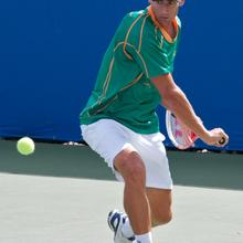 Thumbnail for SOUTH AFRICAN DAVIS CUP TEAM HARD AT PRACTICE