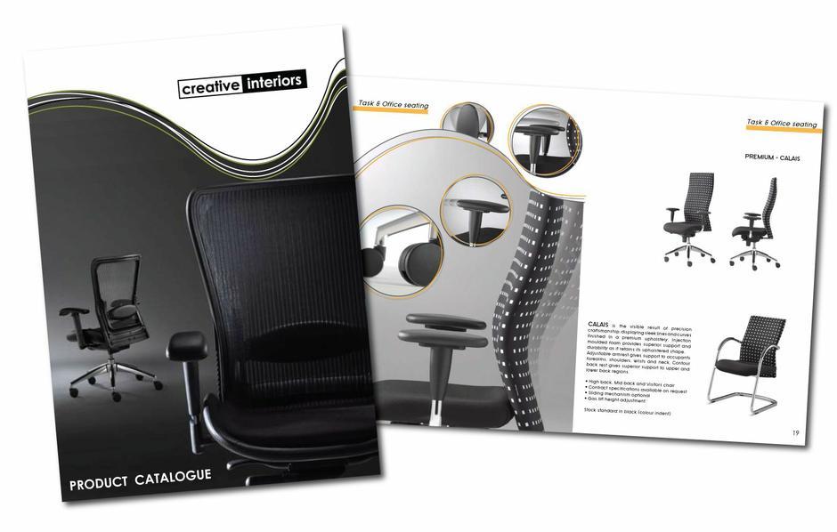 Creative interiors brochure design pip barnier for Creative interior design portfolio