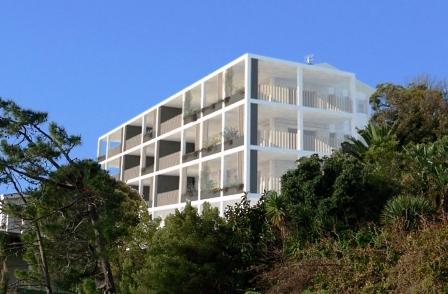 Ridgemont flats balconies design Alex Geh