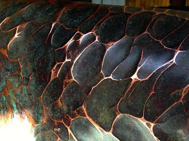 Texture - Copper bridge Ellerman House