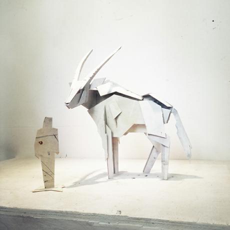 """Simon Max Bannister """"Oryx 850 Maquette"""""""