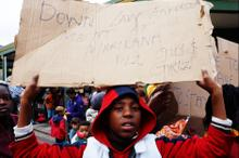 Thumbnail for Marikana Protest at Open Streets Observatory